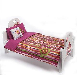 Madame Alexander Favorite Friends Wood Bed Set for 18