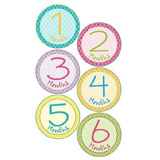 Made with waterproof vinyl. Extremely durable and very tear resistant.-Place these adorable stickers on your babys ones