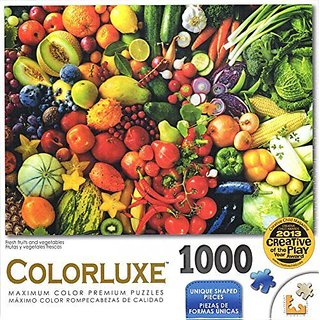Colorluxe 1000 Piece Puzzle - Fresh Fruits and Vegetables