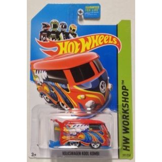 2014 Hot Wheels Hw Workshop - Volkswagen Kool Kombi