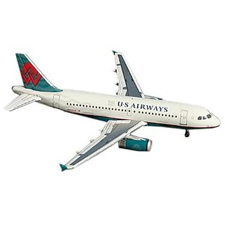 Gemini Jets US Airways (American West Teal Retro) A319 1:400 Scale