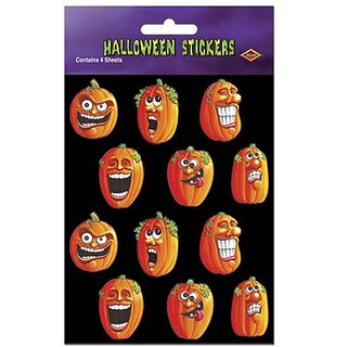 This item is a great value!-4 sheets per package-Halloween party item-Stickers for festive occasions-High Quality