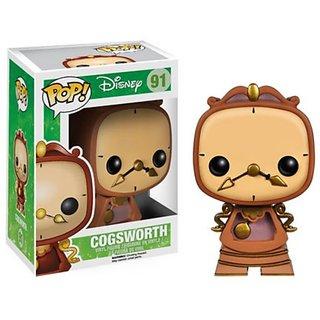 Funko POP Disney: Cogsworth Action Figure