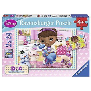 Ravensburger Doc McStuffins Puzzles in a Box (2 x 24 Piece)