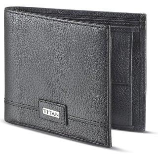 Titan Black Pure Leather Wallets