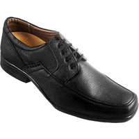 Action Synergy Men's PUMS4007 Black Formal Shoes