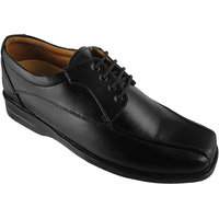 Action Synergy Men's PUMS3572 Black Formal Shoes