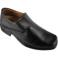 Action Synergy Men's PUMS3650 Black Formal Shoes