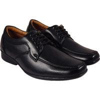 Action Synergy Men's PL4421 Black Formal Shoes