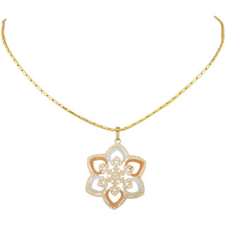 Jewel Fab ArtLovely Quality Star Shape Gold Plated PEndant Gifted Jewelry For Man