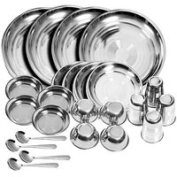 IDeals 24 Pieces Dinner Set (For 6 People)