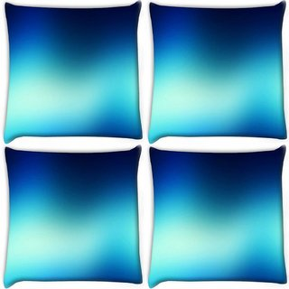 Snoogg Pack Of 4 Lite Color Design Digitally Printed Cushion Cover Pillow 12 x 12 Inch
