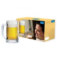 Ocean Glassware-Ocean Munich Beer Mug-Set Of 3 Pieces-355 Ml Each