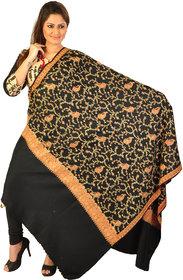 Women's Kashmiri Semi-Cashmere Pashmina Embroidered Shawl Wrap