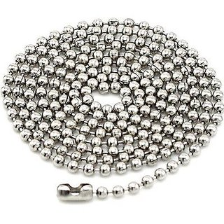 Stainless Steel High Polish Ball Chains 4.00 Mm Dia- 550 Mm Long
