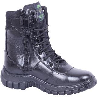 NUAN Leather Boots(NU21BlackLeather)