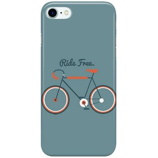 The Fappy Store ride free Back Cover for Apple iPhone 7