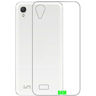 DKM Inc Soft Transparent Back Cover for Vivo Y55