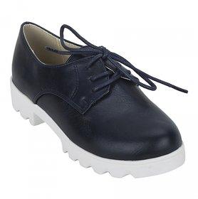 Joy n Fun Navy Blue Formal Shoes