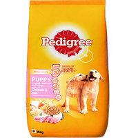 Pedigree (Puppy - Dog Food) Chicken  Milk, 15 Kg Pack