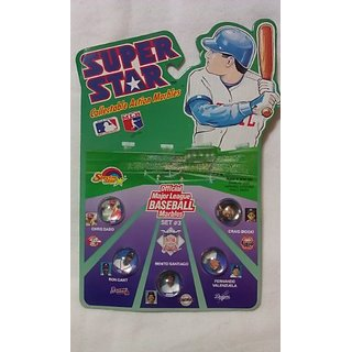 Major League Baseball Super Star Collectible Action Marbles set #3