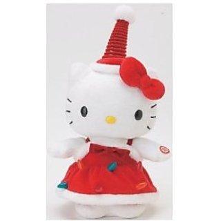 Hello Kitty Holiday Edition Dancing Kitty Plush