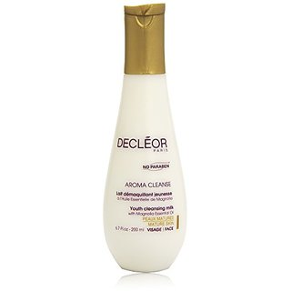 Decleor Aroma Cleanse Youth Cleansing Milk, 6.7 Fluid Ounce