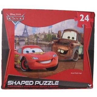 Cars - Shaped Puzzle