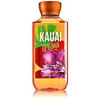 Bath & Body Works Shea & Vitamin E Shower Gel Kauai Flower Lei