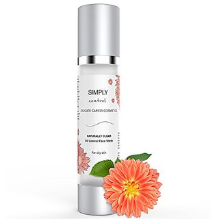 Simply Control - Naturally Clear Oil Control Foaming Cleanser - Light foaming, non-stripping facial cleanser for Oily Sk