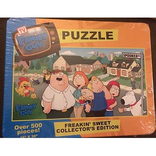 Family Guy Over 500 Pieces Puzzle Tin