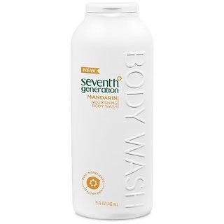 Seventh Generation Nourishing Body Wash, Mandarin, 15 Ounce