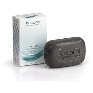 Dead Sea Soap By Naomi Cosmetics - 4.4 oz - Great for Treating Acne, Minor Cuts, Fungi in Skin and Nails!