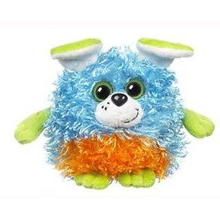 Blue Orange & Green Puppy Whoorah Friends Plush by Ganz