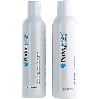 Perfect Hair Regrowth Shampoo and Conditioner Combo, 8 Ounces Each