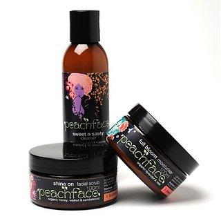 Peachface Skin Care Gift Set for Women, Best Friends, 800 Gram