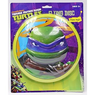 What Kids Want TMNT Sculpted Flying Disc