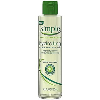 Simple Kind To Skin Hydrating Cleansing Oil, 4.2 Ounce