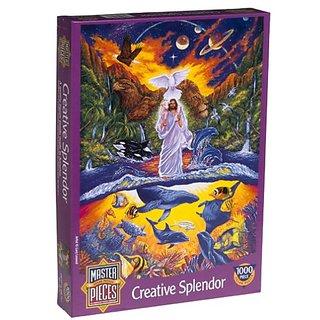 Creative Splendor 1000 Piece Puzzle - Jesus and the Animals