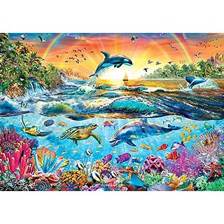 Buffalo Games Tropical Paradise from The Amazing Nature Collection Jigsaw Puzzle (500 Piece)