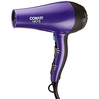 Conair 1875 Watt Thermal Shine Styler and Hair Dryer, Purple