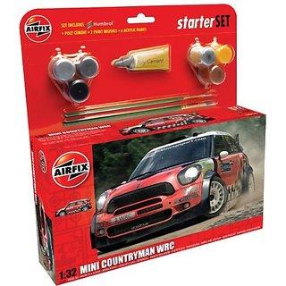 Airfix A55304 Mini Countryman WRC Model Kit, 1:32 Scale
