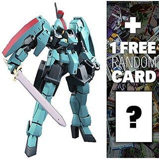 EB-06rs Cartas Graze Ritter: Gundam Iron-Blooded Orphans High Grade 1 144 Model Kit + 1 FREE Official Japanese Gundam Tr
