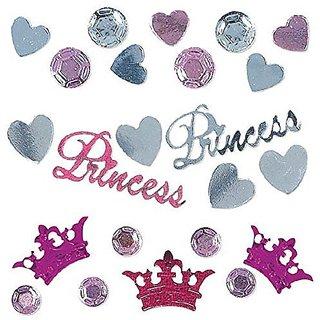 Amscan Pretty Princess Confetti Mixes, 1.2 oz.