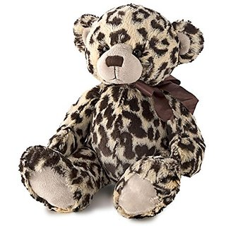 Nat and Jules Leopard Print Bear Plush Toy