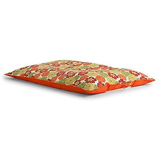 Big Joe Pool Float Spring Outdoor Bean Chair, Splendor Orange-Orange