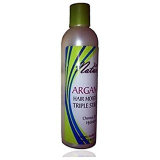 Luist Naturals Argan Oil Hair Moisturizer Triple Strength 8 Oz