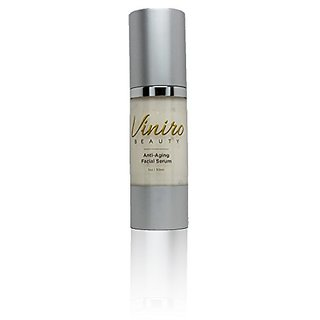 Anti-Aging Facial Serum with Gatuline, 1 oz. Reduce Lines and Wrinkles Fast by Viniro