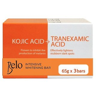 Belo Kojic Lightening Soap Bar (Pack of 3) 65g