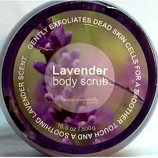 LAVENDER BODY SCRUB 16.9oz>